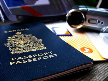 Pretend Printable Passports (CA & US) for fun. Geography fairs, travel reading and more...
