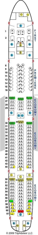 Anal Seat Site - SeatGuru Seat Map Jet Airways Boeing 777-300ER (77W) V1