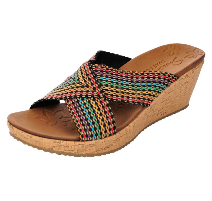 Buy Skechers Beverlee Wedge Slide Sandal - Shoes, Handbags & Luggage - Women's Shoes - Wedges - Online Shopping for Canadians