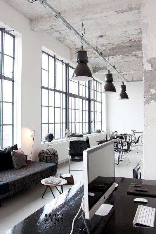 factory work loft | join and get minimalist goods delivered to you quarterly @ minimalism.co #minimal #style #design