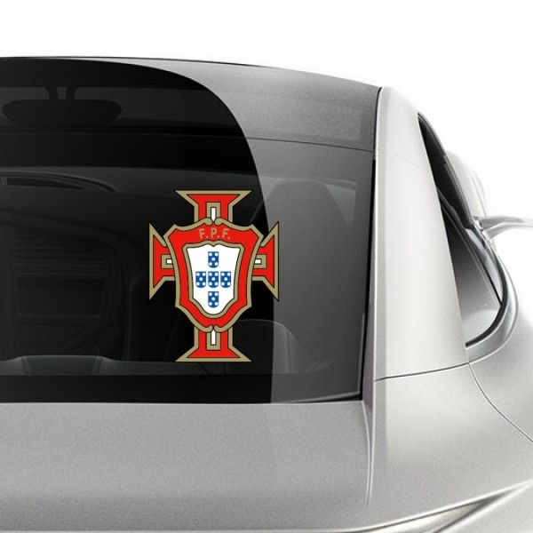 The Portugal football team logo car sticker