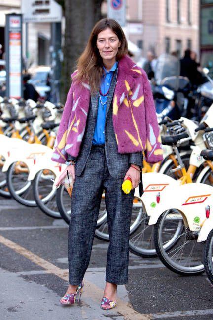 Milan Street Style Fall 2014