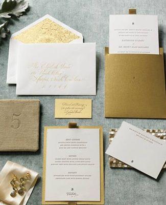 9 Eye-Catching New Year's-Inspired Metallic Wedding Ideas - The Knot Blog
