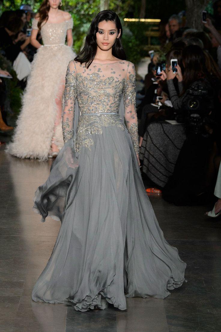 Elie Saab haute couture wiosna-lato 2015, fot. mat. prasowe
