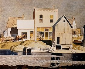 A.J. Casson, Bobcaygeon, Canadian Group of Seven