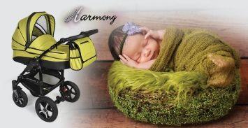 DorJan Prestige 2 Harmony wózek wielofunkcyjny 3 w 1 KOLORY