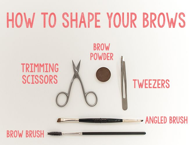 Shaping Your Eyebrows - Inspired By This Important for the big day #maintain