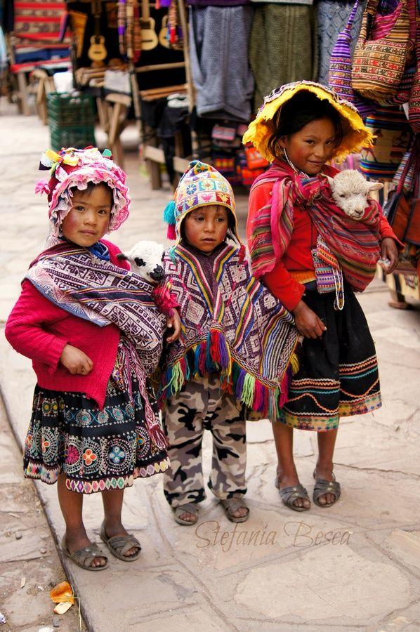 Niños peruanos.