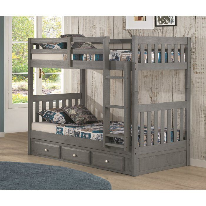 Twin Over Twin Bunk Bed With Drawers Modern Bunk Beds Twin Bunk Beds Bunk Beds Cheap twin over twin bunk beds