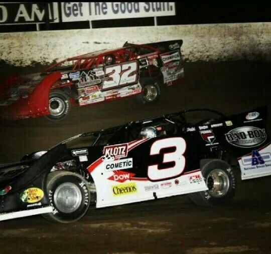 Bobby Pierce And Austin Dillon Going At It !!!