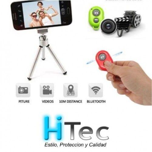 Disparador de fotos bluetooth  IOS Y ANDROID  TABLET Y SMARPHONES