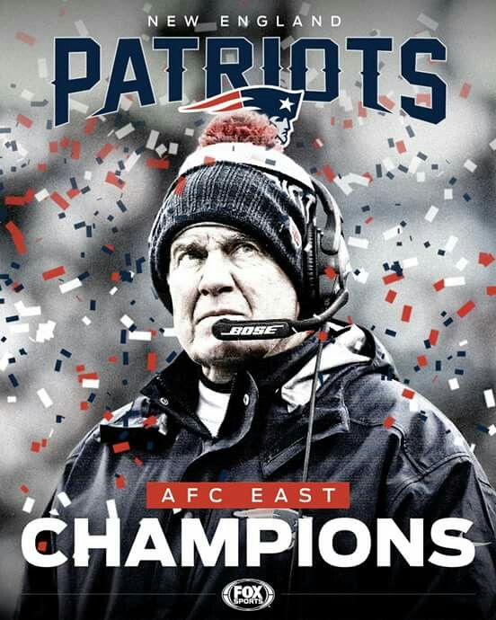 AFC Champs. New England Patriots