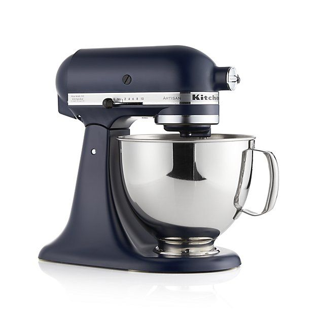 KitchenAid ® Artisan Ink Blue Stand Mixer | Crate and Barrel