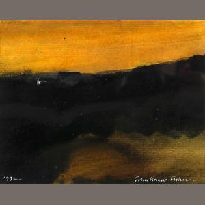 'Evening Skyline' 1992, John Knapp Fisher