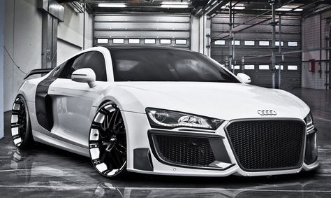 "Well here's one that' sure to polarize opinion. Regula Tuning, based in Schwerte, Germany, have just published details of their ""Grandiose"" tuning package for the Audi R8. Starting with the front, ..."