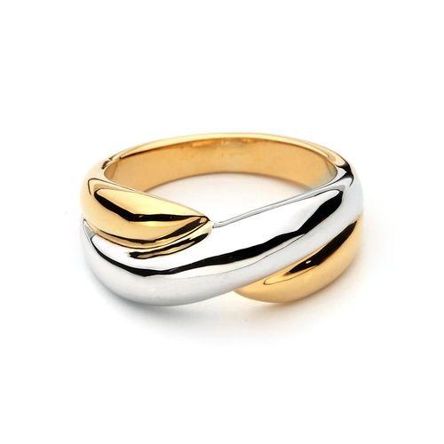 Fusion Dual tone Yin-Yang Ring