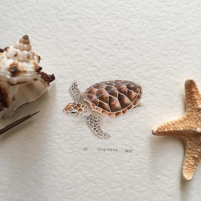 """Hayvanlar Alemi ve Meyveleri Resmeden Sanatçıdan 30+ Çalışma: """"Irene Mia"""" Sanatlı Bi Blog 23"""