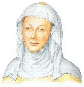 svatá Ludmila, manželka Bořivoje I.