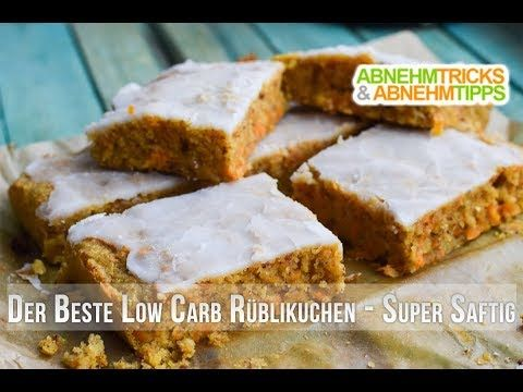 Der beste Low Carb Karottenkuchen - Rüblikuchen - Möhrenkuchen