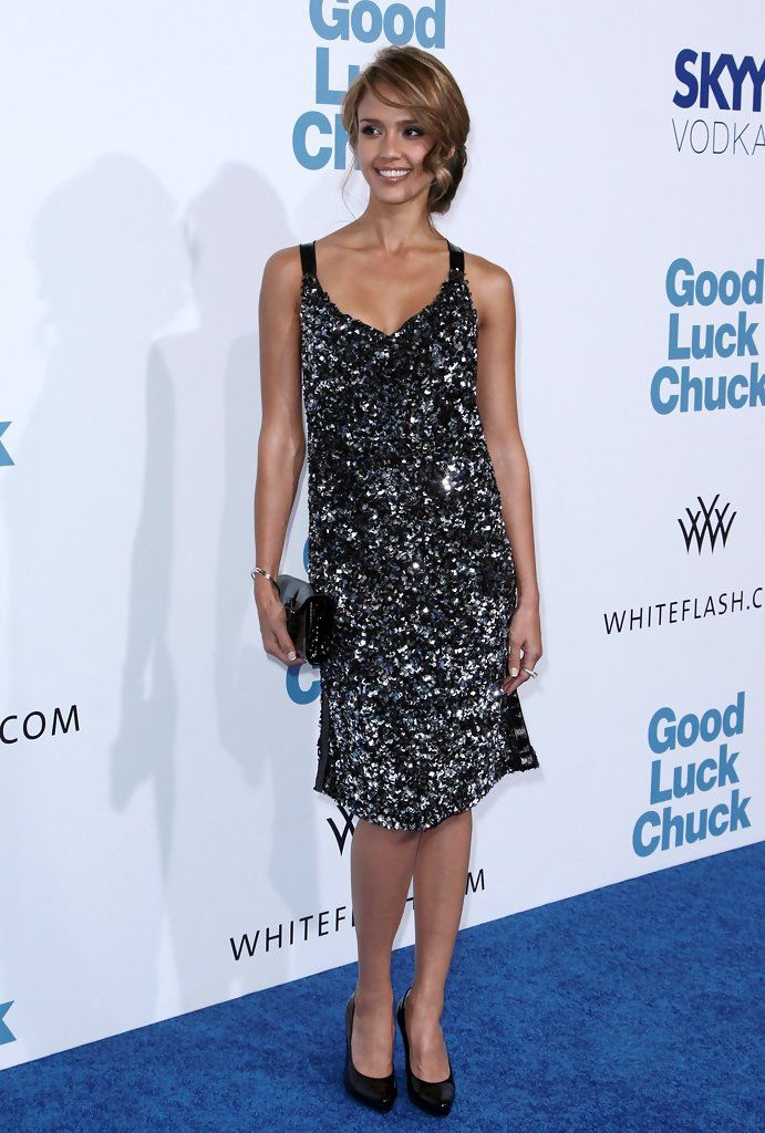 "Jessica Alba Photos - Lionsgate's LA Premiere Of ""Good Luck Chuck"" - Arrivals - Zimbio"