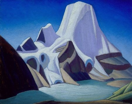 Lawren Harris, one of the Group of Seven - Mount Robson from the Northeast, c1929