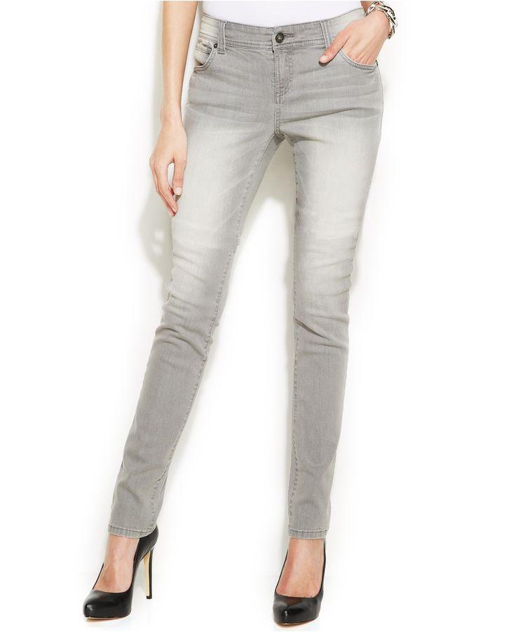 INC International Concepts Skinny Jeans, Shadow Grey Wash - INC ...