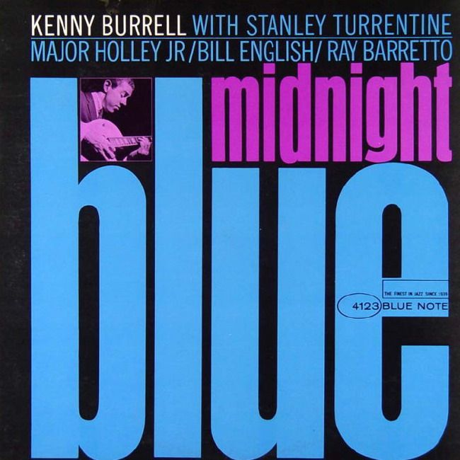 BB 4123 - Kenny Burrell - Midnight Blue