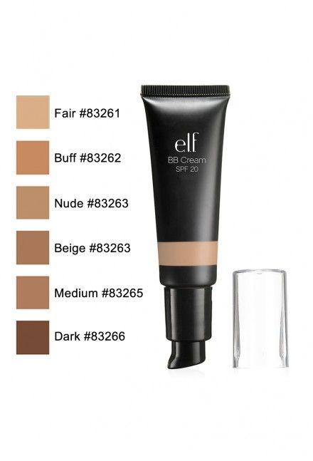 E L F Studio Bb Cream Spf 20 Maquillaje De Ojos Base De