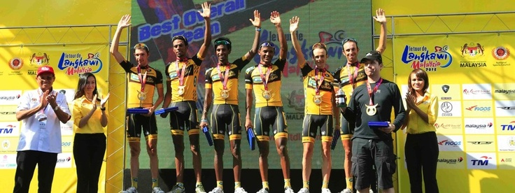 Best team in the 2013 edition of the race