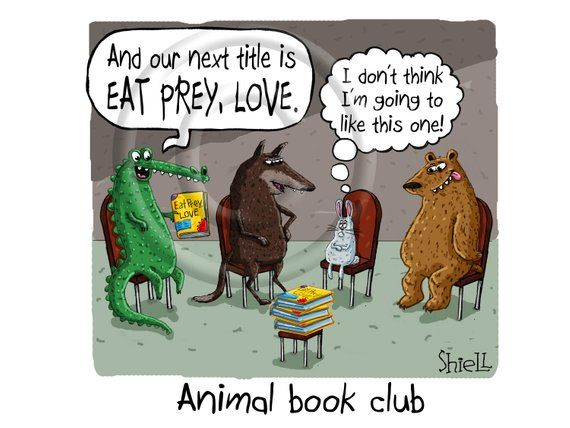 A Poor Little Bunny Shows Up At The Wrong Book Club A Humorous