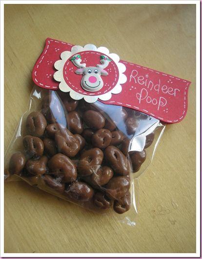 Reindeer poop ... err ... jumbo chocolate coated raisins