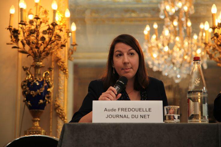 Table ronde animée par Aude Fredouelle, Journaliste, Journal du Net