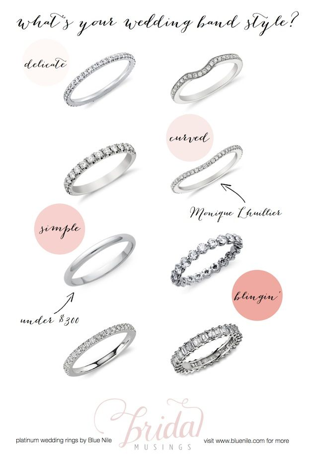 platinum wedding rings from blue nile whats your wedding band style wedding wedding ring and style - Wedding Ring Types