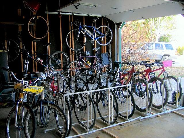 1000 Images About Diy Bike Racks Parking On Pinterest