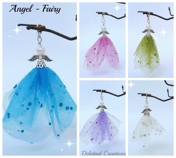 Angel-Fairy Keepsakecommunionconfirmation baby by DelabudCreations