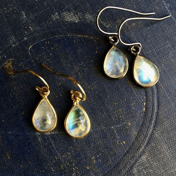 Gold Moonstone Earrings,Moonstone Earrings Gold,Dainty Gemstone... (180 PLN) ❤ liked on Polyvore featuring jewelry, earrings, tear drop earrings, gemstone jewelry, teardrop shaped earrings, gold moonstone earrings and moonstone earrings