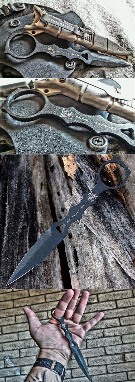 Benchmade - SOCP Dagger 176, Skelentonized Dagger Fixed Knife @thistookmymoney