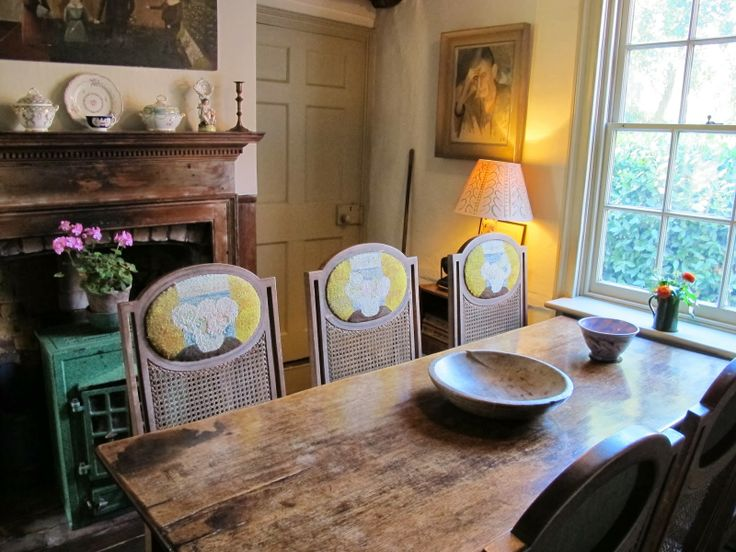 down the road from charleston - virginia woolf's monk's house