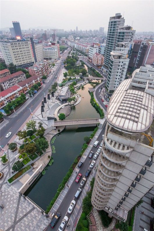 Zhangjiagang China  City pictures : Zhangjiagang Town River Reconstruction / Botao Landscape | Rivers ...