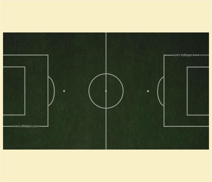 """Kickertisch Zubehör / Kicker Zubehör / Tischfußball Zubehör - Spielfeldfolie Motiv """"Kunstrasen"""""""