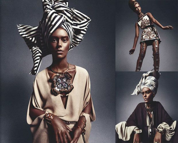 Fashion Mag Uses Photos of White Model to Illustrate African Queen Editorial africanqueen
