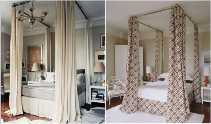 Simple Canopy Bed