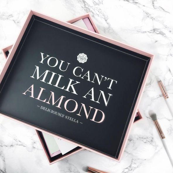 #GlossyboxUK #DeliciouslyStella #Almonds #Qotd