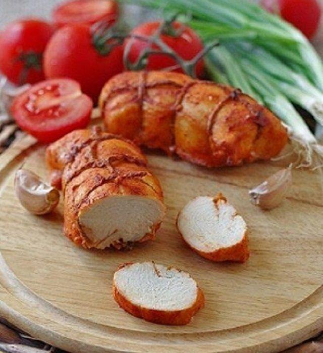 Pastorma chicken