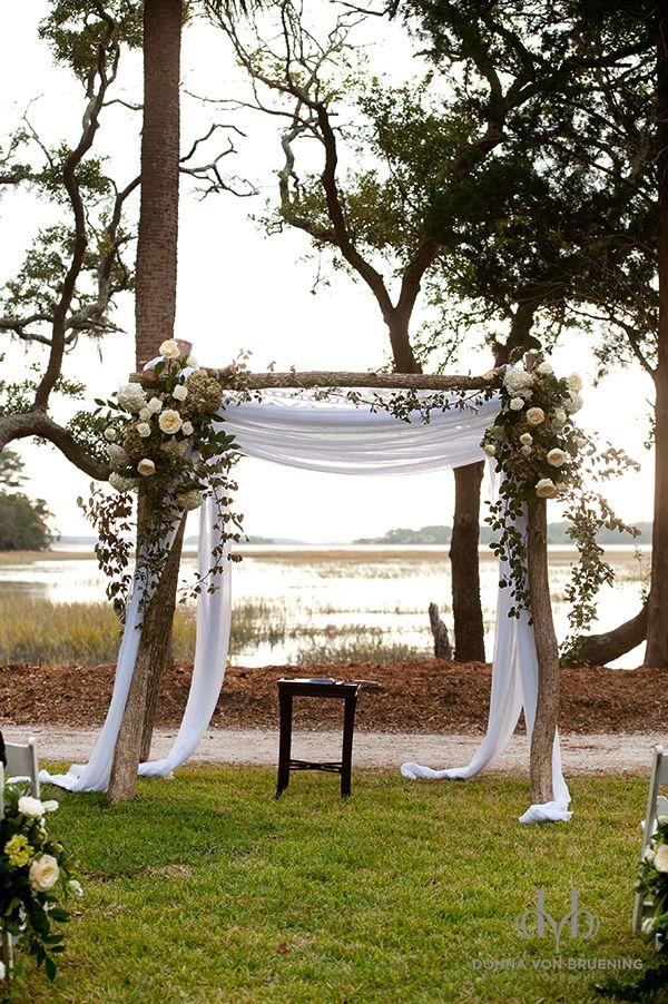 Savannah wedding ceremony - photo by Donna Von Bruening Photographers
