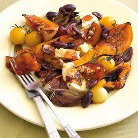 Mediterranean-style warm salad