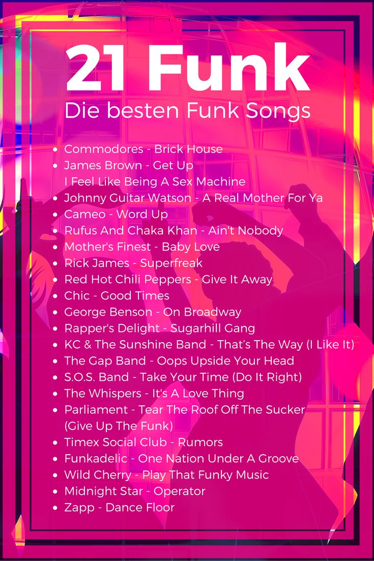 21 #Funk Songs - Die besten Funk #Classics #Commodores #BrickHouse #JamesBrown #SexMachine #Cameo #WordUp #Superfreak #RickJames