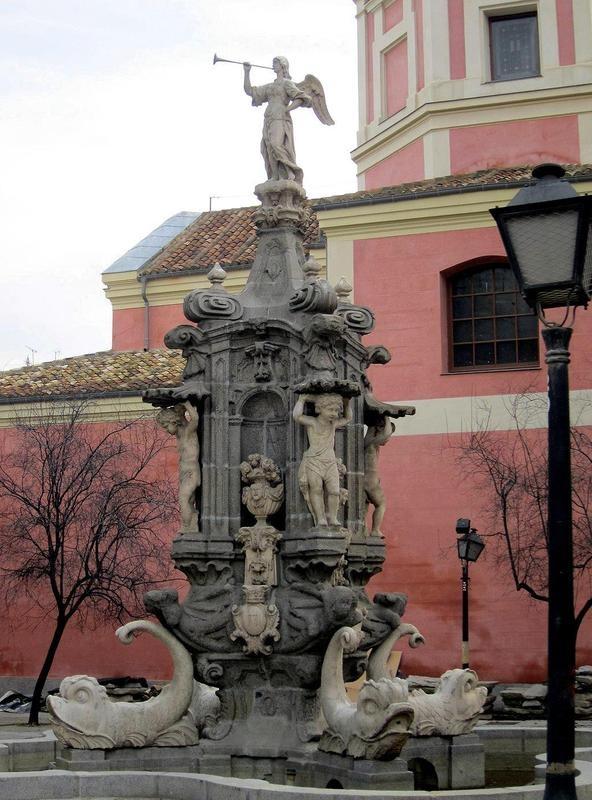 Fuente de la Fama - Jardines del Arquitecto Ribera - Plaza de Barceló, Madrid