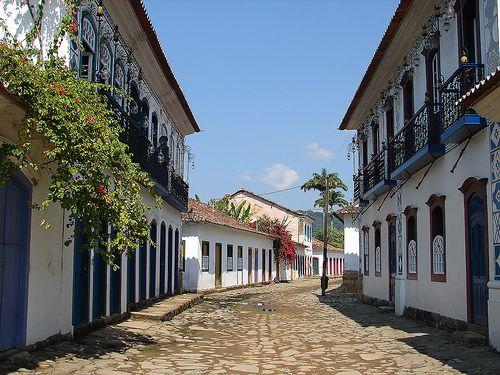 Cidade de paraty centro Histórico