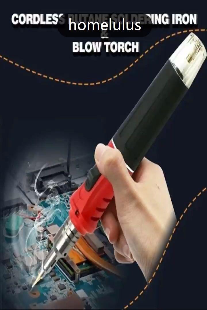 774cc87e1687ef30d26a3dae96cc3dcc $59.99 USD Cordless Butane Soldering Iron & Blow Torch
